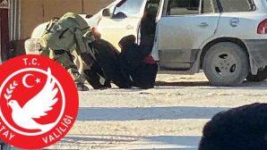 Afrin'de 2 canlı bomba yakalandı