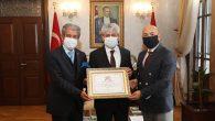 AGF ve HGC Başkanları ziyareti Vali Doğan'a