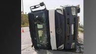 Arsuz-İskenderun  çevre yolunda kaza