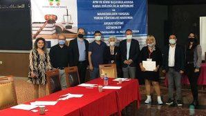 Baro Başkan ve Yöneticileri Mersin Seminerinde
