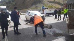 Belen'de büyük kaza