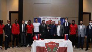 Hatayspor'un sponsor kuruluşlarından