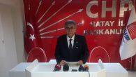 CHP İl Başkanı PARLAR, erken seçimden söz etti: