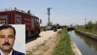 Sulama kanalına düşen imam boğuldu