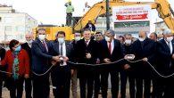 Samandağ Atatürk Sahil Parkı Temeli Atıldı