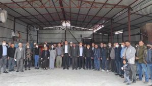 CHP'ye Saçaklı'da 40 Katılım