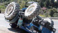 Kuruyer'de Traktör Devrildi 1 Yaralı…