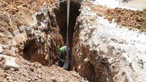 Dursunlu'da Atık Su Hattı Yenilendi
