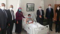 AKP'li vekiller gazi ziyaretinde