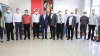 """HAMOK, BŞB Başkanı Savaş'la """"Arıtma Tesisi"""" sorunu görüşmesini paylaştı:"""