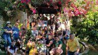 Avrupalı 35 Öğrenci İle Bağ-bahçede Söyleşi…