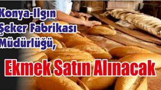 Ekmek Satın Alınacak