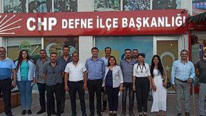 Defne'de CHP İlçe Yönetimi mesajı BŞB Başkanı Savaş'a:
