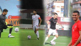 Hatayspor'da formayı en çok giyen futbolcular