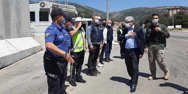 Vali Doğan, Nöbetteki Jandarma ve Polisin Bayramını Kutladı
