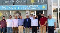 Samandağ  Belediye Başkanı  Ziyareti İyi Parti'ye