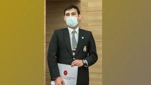 MKÜ'lü Öğr. Gör. Türkmen'e 2 Ödül