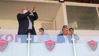 Gol'e Ayakta Alkış Belediye Başkanından