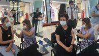 Hatay'da 1 günde 27.073 kişiye aşı