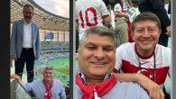 Toksöz, Azerbaycan Stadında Bakan Kasapoğlu İle…