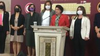 CHP'li kadınlar çekildi