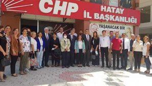 Gülizar Biçer Karaca, hafta sonu Hatay'daydı: