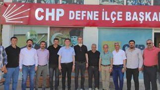 Defne Değişimin CHP Ziyareti