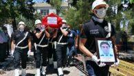 Kazada ölen polis, Osmaniye'de toprağa verildi