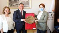 İYİ Parti Lideri Akşener'den HBB'ye ziyaret