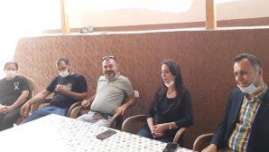 HDP'liler SMA Hastası Ziyaretinde