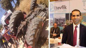 Tanışma'da Traktör Kazası