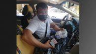 Şoför,  sahibini bulup  teslim etti