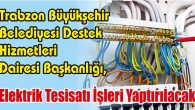 Elektrik Tesisatı İşleri Yaptırılacak