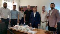 AK Parti Heyeti'nden Gazetemize ziyaret