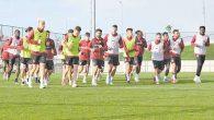 Hatayspor'un lig öncesi ilk hazırlık maçı