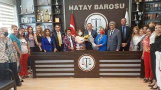 CHP ve Hatay Barosu'ndan Protokol