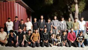 37 göçmen yakalandı