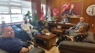 İdare Mahkemesi Başkanları Ziyareti Baro'ya