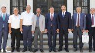 Kıbrıslı Belediye Başkanları Antakya'da