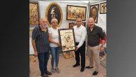 Uygur ve Sarı, Gülbol Sanatevi'nde…