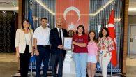 Karahan, LGS Türkiye birincisini ödüllendirdi