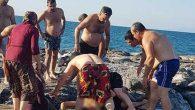 Arsuz'da denizde boğulma