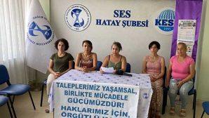 Keskli kadınlar, toplu sözleşme sürecinde taleplerini sıraladı