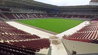 Yeni stadyumda maçlar tehlikede