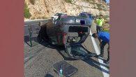 Yayladağı yolunda kaza