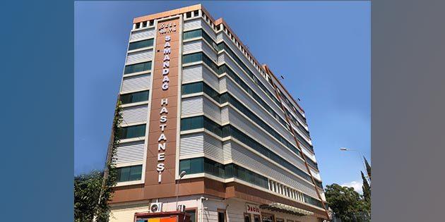 Samandağ'daki Özel Hastaneden