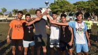 Plaj futbol turnuvası şampiyonları