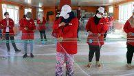 Kadınlar, ağ örme kursunda günlük 85 TL kazanıyor