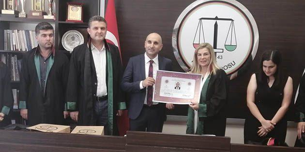 Stajyer Avukatlar Cübbe Giydi