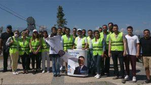 """DEVA Partisi'nden """"Dünya Temizlik Günü"""" etkinliği"""